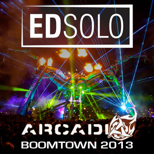 Ed Solo Live on the Arcadia Stage Boomtown 2013