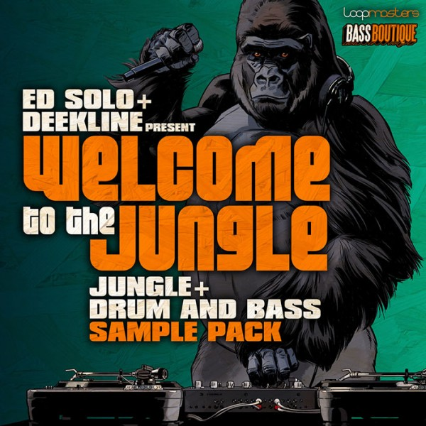 Welcome To The Jungle Drum And Bass Sample Pack