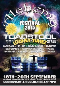 Alchemy Festival 2015 – Toadstool Stage