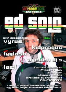 Aberboomtique presents ED SOLO