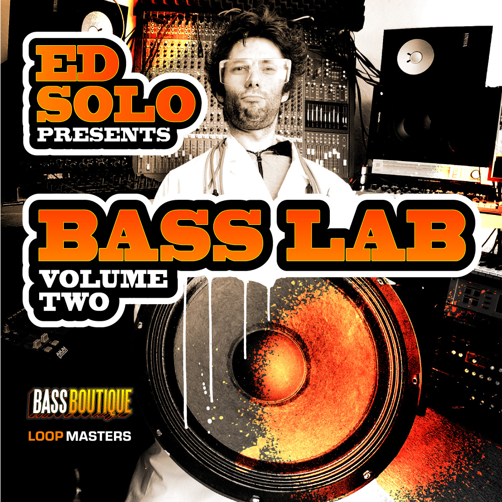 Ed Solo Presents Bass Lab Vol 2 Sample Pack BPM: 110 - 175, Loops, Sampler Patches, One Shots, Sound Archives, Ghetto Funk, Funky Breks, Dupstep, Breaks, Bass, Drum And Bass, Jungle, House, Garage, Grime, Deep House