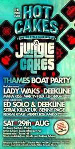 Hotcakes Boat Party